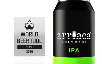 Arriaca se trae dos nuevas medallas del certamen internacional World Beer Idol 2020 de la República Checa