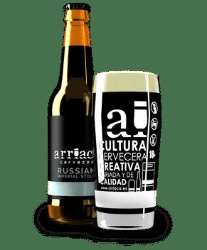 Arriaca russian imperial stout cerveza artesana