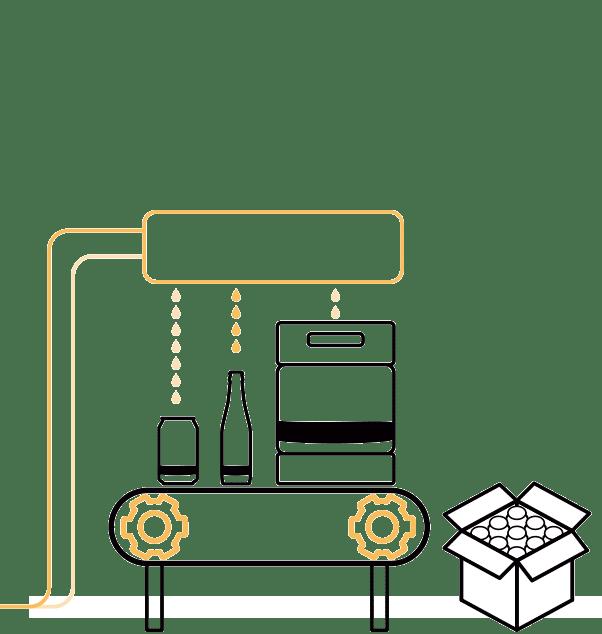Décimo paso en la elaboración de la cerveza artesana Arriaca