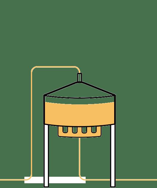 Tercer paso en la elaboración de la cerveza artesana Arriaca