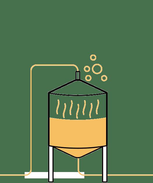 Cuarto paso en la elaboración de la cerveza artesana Arriaca