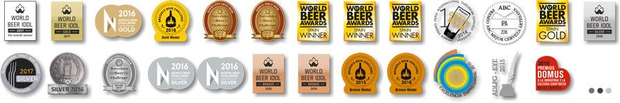 lista de premios de la cerveza artesana arriaca