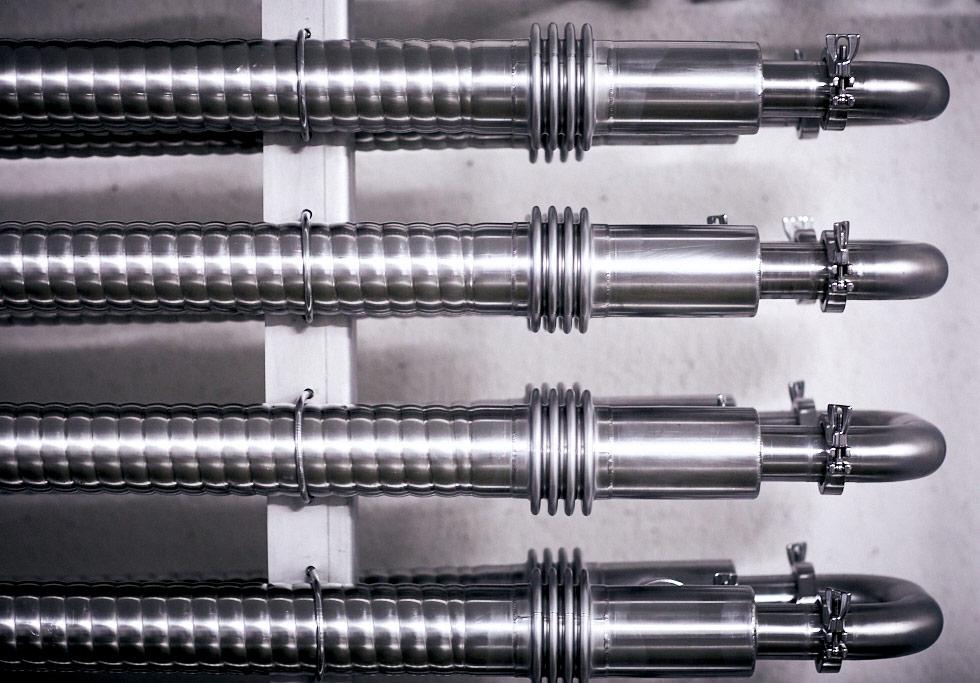 La fábrica de Arriaca cuenta con una red de refrigeración de última tecnología