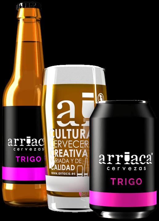 Prueba la cerveza artesana TRIGO Arriaca en barril