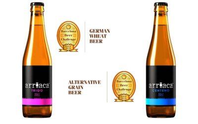 Arriaca se trae dos Oros del certamen internacional Barcelona Beer Challenge