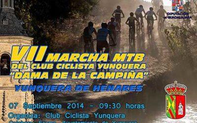 Arriaca colabora en la VII Marcha MTB de Yunquera