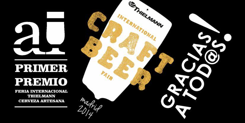Primer Premio I Feria de la Cerveza Artesana de Madrid