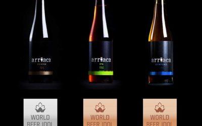 Arriaca obtiene tres medallas en el World Beer Idol 2016