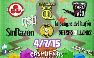 Agallón Rock: un festival en plena Alcarria