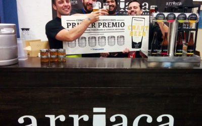 Arriaca, Primer Premio del concurso de microcervecerías de la Feria Internacional Thielmann de Madrid