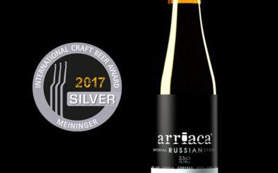 Arriaca, premiada en un certamen internacional de cerveza en Alemania
