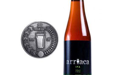 Arriaca se trae una Medalla de Plata de la Craft Beer Cup de Dublín