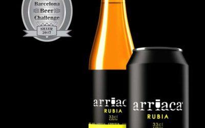 Arriaca obtiene una Medalla de Plata en el certamen internacional Barcelona Beer Challenge 2017