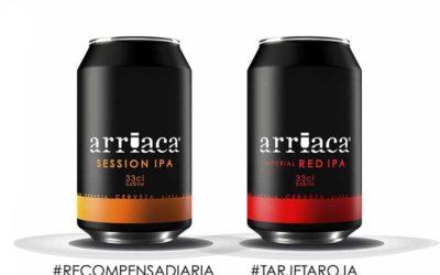 Novedad dual en lata y sólo en lata: Arriaca Session IPA e Imperial Red IPA