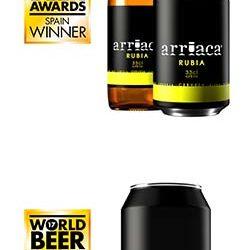 Arriaca obtiene cuatro reconocimientos en el World Beer Awards 2017 de Londres