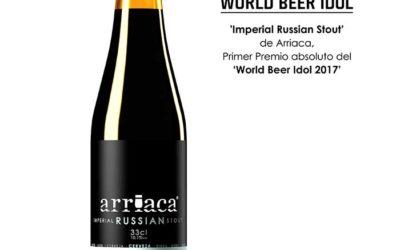 Arriaca, primer premio absoluto del certamen internacional World Beer Idol 2017