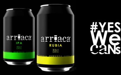 Arriaca lanza la primera cerveza artesana española en lata