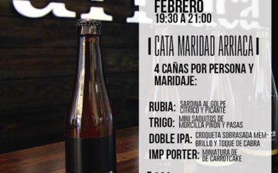 Nos vamos de aniversario con cata maridada en La Camarilla (Madrid)