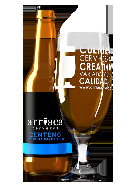 Prueba la cerveza artesana CENTENO Arriaca