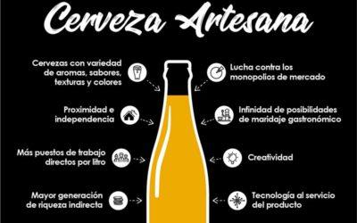 Cerveza artesanal vs cerveza industrial: el secreto está en las formas