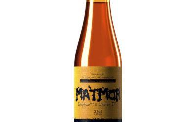 MATMOR Elephant´s Choice IPA, ganadora del IV Concurso Homebrewer, lista para el viaje