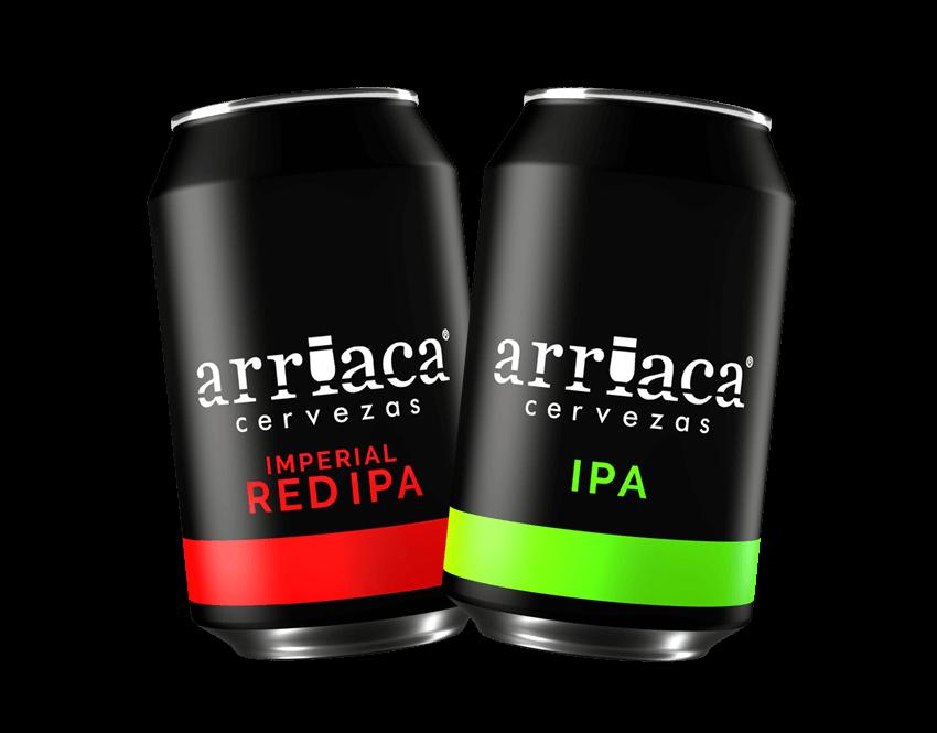 Pack el fuerte de cerveza artesana Arriaca