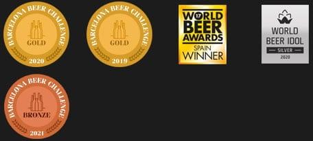 Arriaca RED IPA ha recibido numerosos premios internacionales