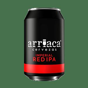 Prueba la cerveza artesana Arriaca IMPERIAL RED IPA en lata