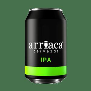 Prueba la cerveza artesana Arriaca IPA en lata