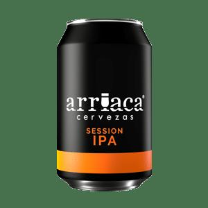 Prueba la cerveza artesana Arriaca Session IPA en lata